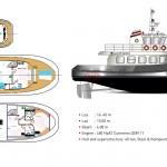 Tugboat's 55 Teknik Çizim